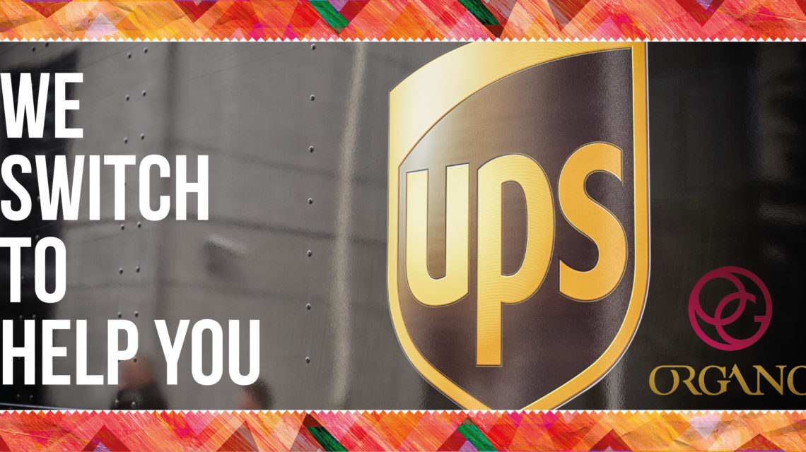 Our newly appointed carrier - UPS - Organo Blog